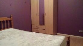 Very spacious double bedroom with own toilet/sink & own lounge/dining room.