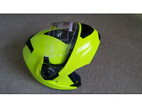 Qtech Flip-up Front Motorcycle Helmet - New