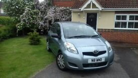 Toyota Yaris-Very good condition, inside & out. Usual few nicks & dings for the year