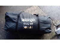 Orchy 500, 5 man tent with accessories