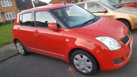 Suzuki SWIFT 1.3 Red Colour 2009 (Reg) 5dr Hatchback