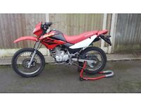 HONDA XR 125 LOW MILEAGE / RUNNING PERFECTLY / LEARNER LEGAL