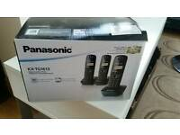 Panasonic home phone set of 3