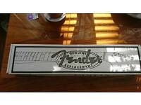 Genuine Fender Classic 50s Stratocaster Replacement Neck