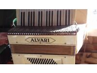 Accordian and carry case
