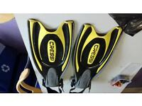 Cressi frog plus yellow fins
