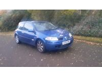 2005 Renault Megane 1.9 dci tax and Mot till August 2017