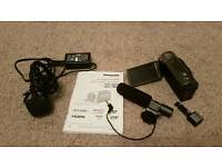 Panasonic SD90 Camcorder with external Mic 1080p (small cam with pro punch)