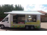 23ft Large Catering/Burger van - 7550 miles only