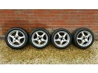 """Alloy wheels 15"""" 195/50 15"""