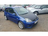 Ford Fiesta 2.0 ST 3dr,FULL SERVICE HISTORY,HPI CLEAR, LONG MOT, PART LEATHER INTERIOR,P/X WELCOME