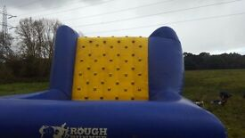 Inflatable Obstacles, we can't use on our courses any longer so thought someone may like to use them