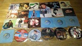 """58 x shakin stevens vinyl collection LP's/12""""/7""""/picture discs/promo/"""