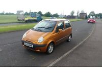2003 daewoo matiz, 1.0 litre engine, ideal learner car, £250