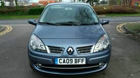 2009 Renault Scenic Dyn Vvt 1.6 Petrol. 2 Owners. Full Service History. Genuine Low Miles.