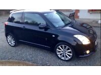 Bargain Suzuki swift sport 1.6 2007 plate low mles £1550 Ono