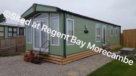 Sited on Regent Bay Morecambe we are offering our 4 birth Luxury Caravan for rent.
