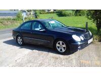 2003 Mercedes E Class Avantgarde, Low Miles only 62850, Mot'd, Warranty