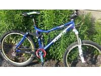 37f7901122e Kona dawgma full suspension mountain bike with fox, Hope, sram and Chris  king parts