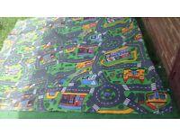 Kids ROUD MAP CARPET