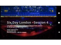 Six Day London - Session 4 | cycling