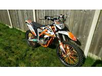 KTM 350 freeride enduro trail motocross