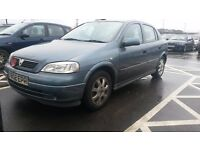 VAUXHALL ASTRA 2001 PRIVATE SALE GOOD CONDITION LOW MILAGE