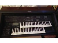 For sale is a Technics sx GX5 Organ.. which is Playable and looks to be in good condition..