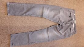 MENS Next Skinny (Crafted for the Individual) Quality Denim Goods - Size 34L Stretch Denim