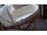 Moses Basket & Stand from Ecobaby