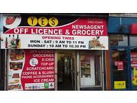 Off licences shop in Wigan