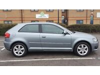 Audi A3 SE,2009,Automatic,petrol,1.8,MOT,HPI clear,full service his,Only 34000 miles,lady owner