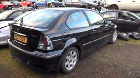 BMW 316i E46 COMPACT 2002 - *BREAKING*