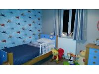 Single Bed & Matching Chest of Drawer (Kids room)