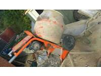 Sold sold sold Belle cement mixer