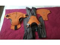 Caboo Close DX sling or baby carrier in rust colour