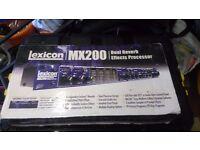 Lexicon MX200 (Dual Reverb Effects Processor)