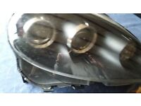MG TF Offside Front headlamp