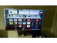 Panasonic 55-inch LED smart TV has small line down the screen