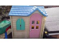 Little Tykes Country Cottage in Pink (suitable for 2 to 6 year old)