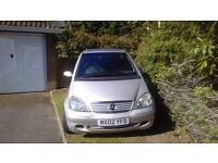 Mercedes A160 AVANTGARDE Excellent Condition with NEW MOT.