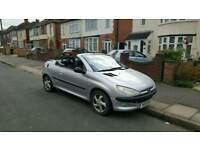 2001 Peugeot 206cc 1.6 Convertible Full MOT Hardtop Coupe Cheap Car 206 cc 307cc 307 cc Megane