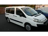 Citroen dispatch taxi 58 reg 9 seater