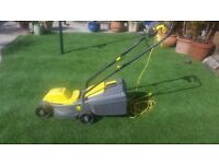 Small electric lawn mower , excellent condition.