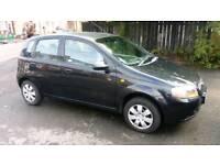 Chevrolet kalos 1.2 petrol 12 month MOT 5 doors 64000 miles low miles