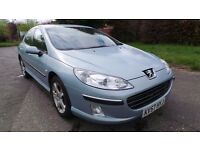 2007 57 PEUGEOT 407 SE 2.0 HDI DIESEL MOT 05/18 89K (CHEAPER PART EX WELCOME)