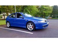 2002 SEAT LEON CUPRA 1.8 20V TURBO JAZZ BLUE FSH