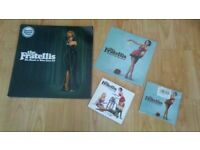4 x the fratellis vinyls / cds collection black n blue / whistle for the choir