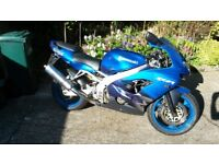 Kawasaki ZX9R in very good condition with full years MOT, new brakes and Sport tyres
