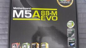 HTPC with Windows 10,AMD Athlon FX-8120, M5A88-M Evo, Big Shuriken, 16 GB RAM, 80GB SSD,Grandia GD05